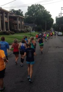 breakaway marathon training group runs